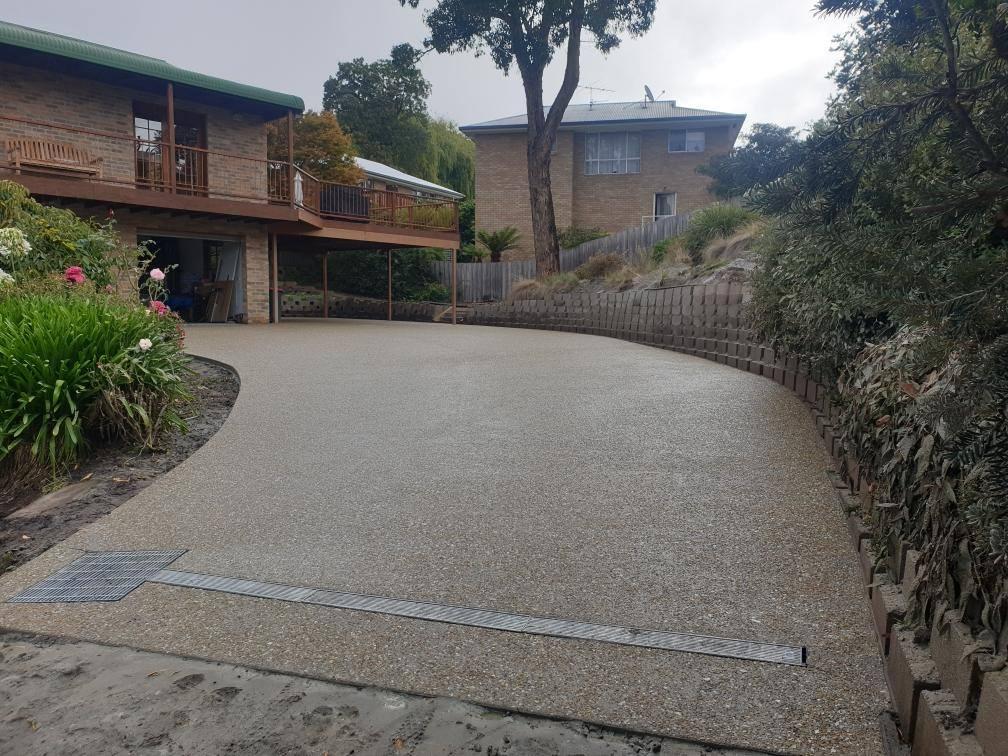Con-Tek concrete pavement residential B after