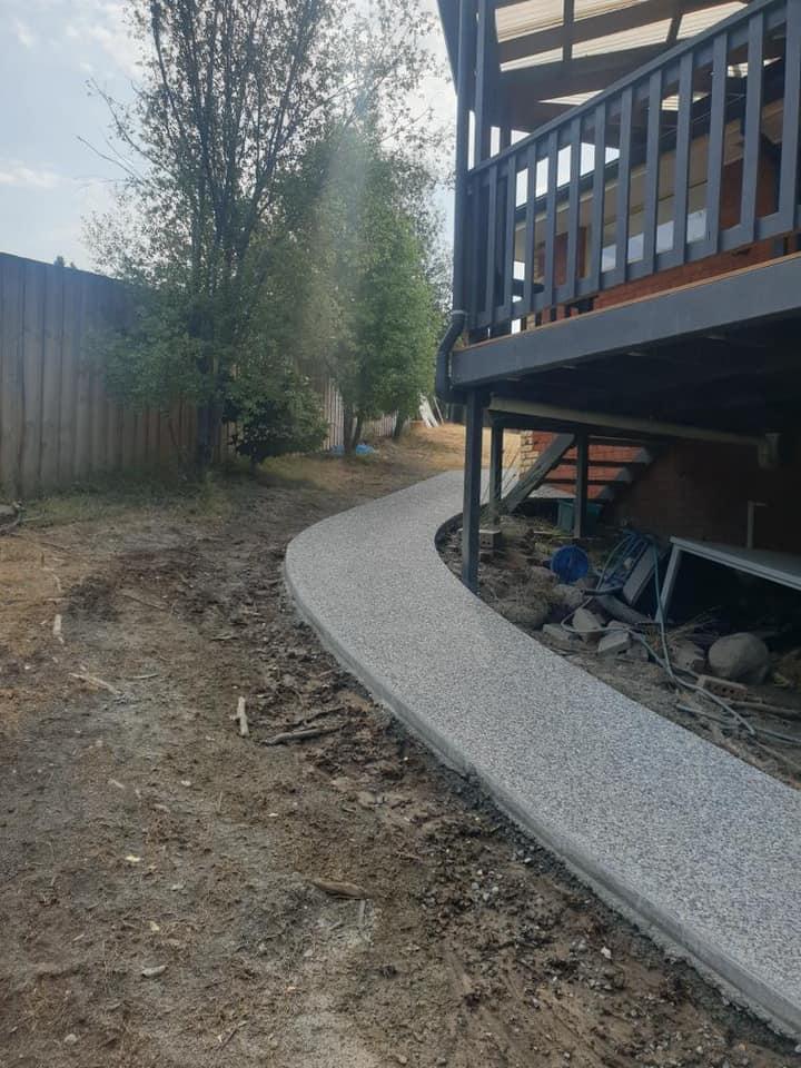 Con-Tek concrete pavement pathway b