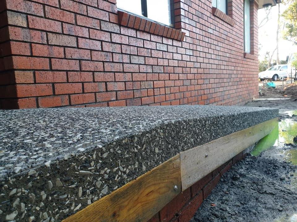 Con-Tek concrete pavement residential ramp