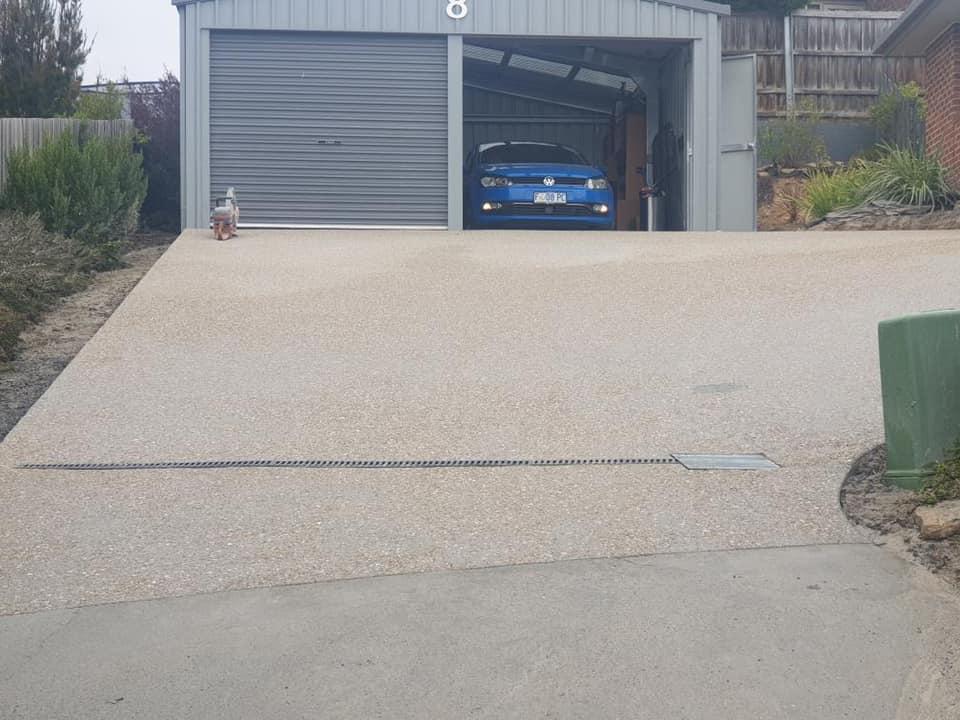 Con-Tek concrete pavement driveway