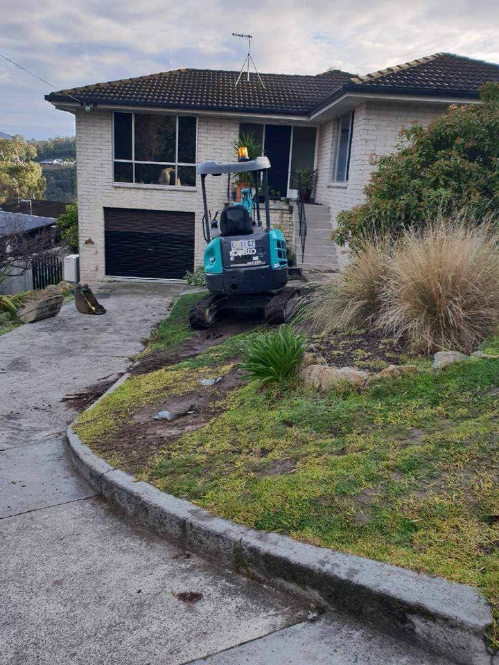 Con-Tek concrete pavement pathway before