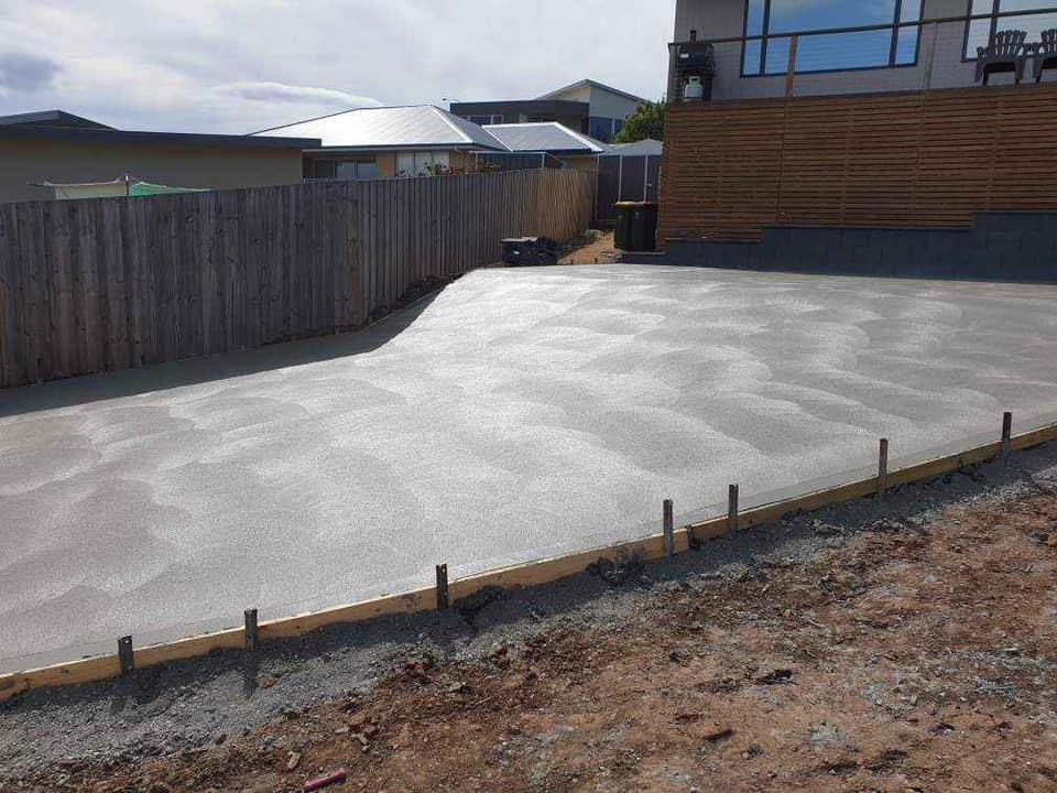 Con-Tek concrete pavement common area B