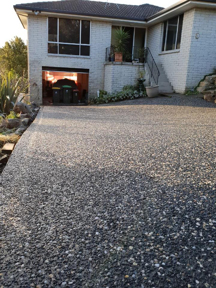 Con-Tek concrete pavement drive way B