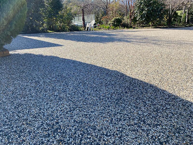 Con-Tek concrete pavement common area