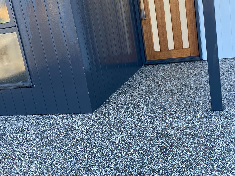 Con-Tek residential concrete pavement after