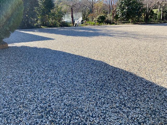 Con-Tek concrete pavement in the garden