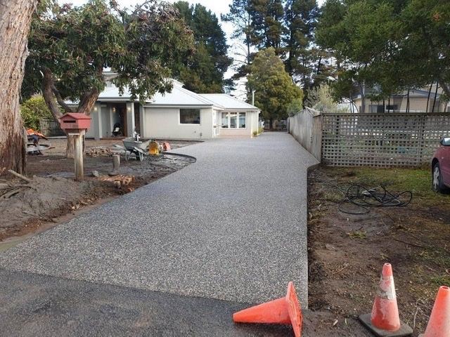 Con-Tek residential ongoing  concrete pavement