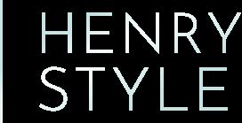 Logo luxusní značky nábytku HENRY STYLE