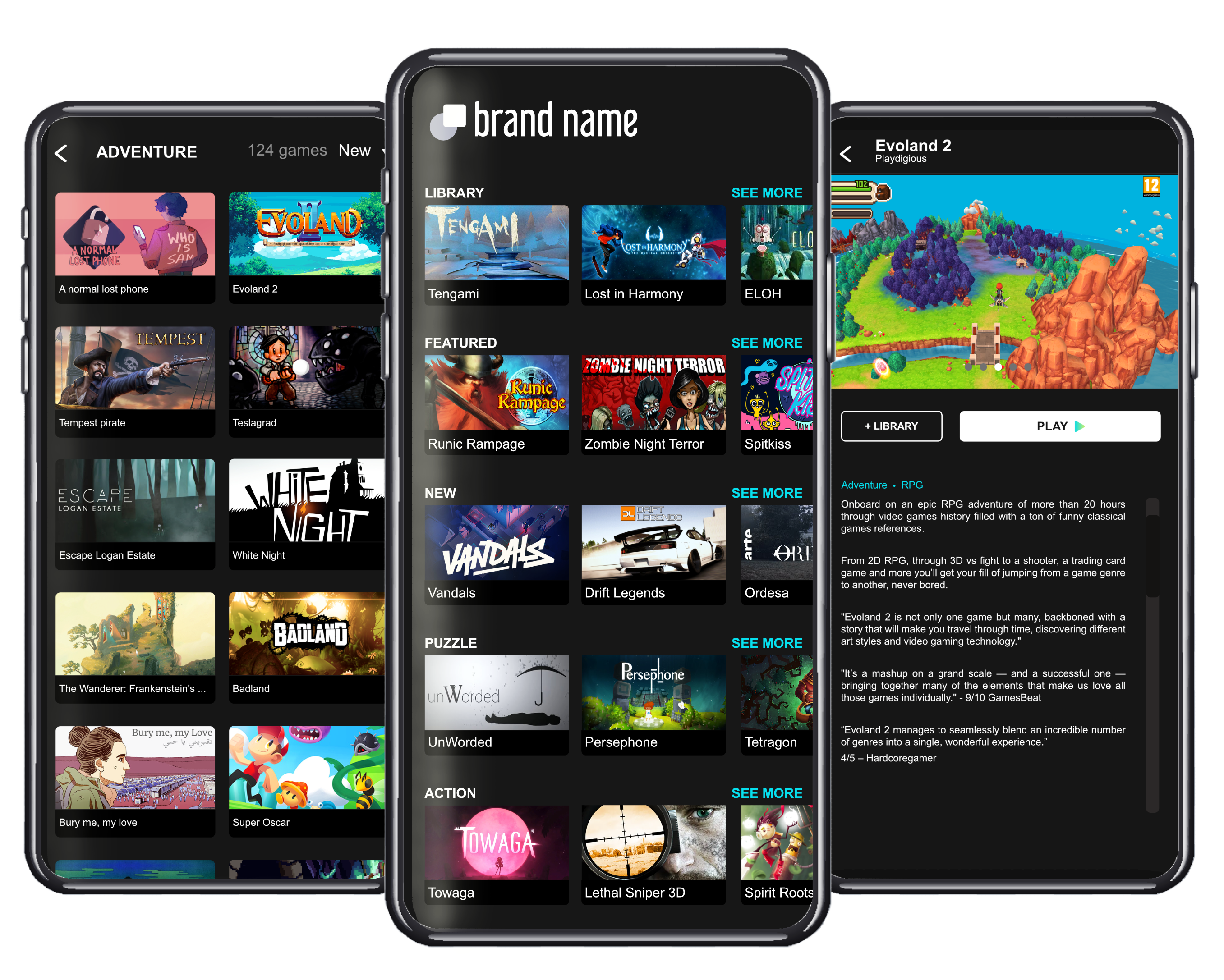 White-label mobile cloud gaming for mobile operators
