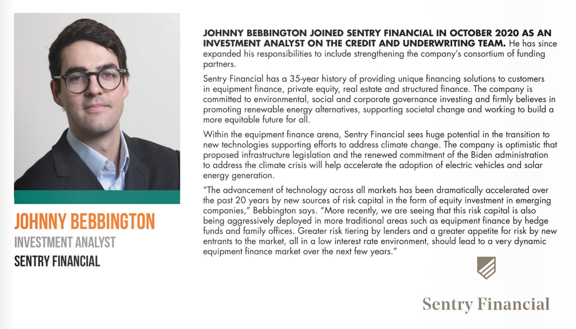 Johnny Bebbington Monitor Next Gen magazine