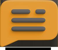 Icon Sprechblase
