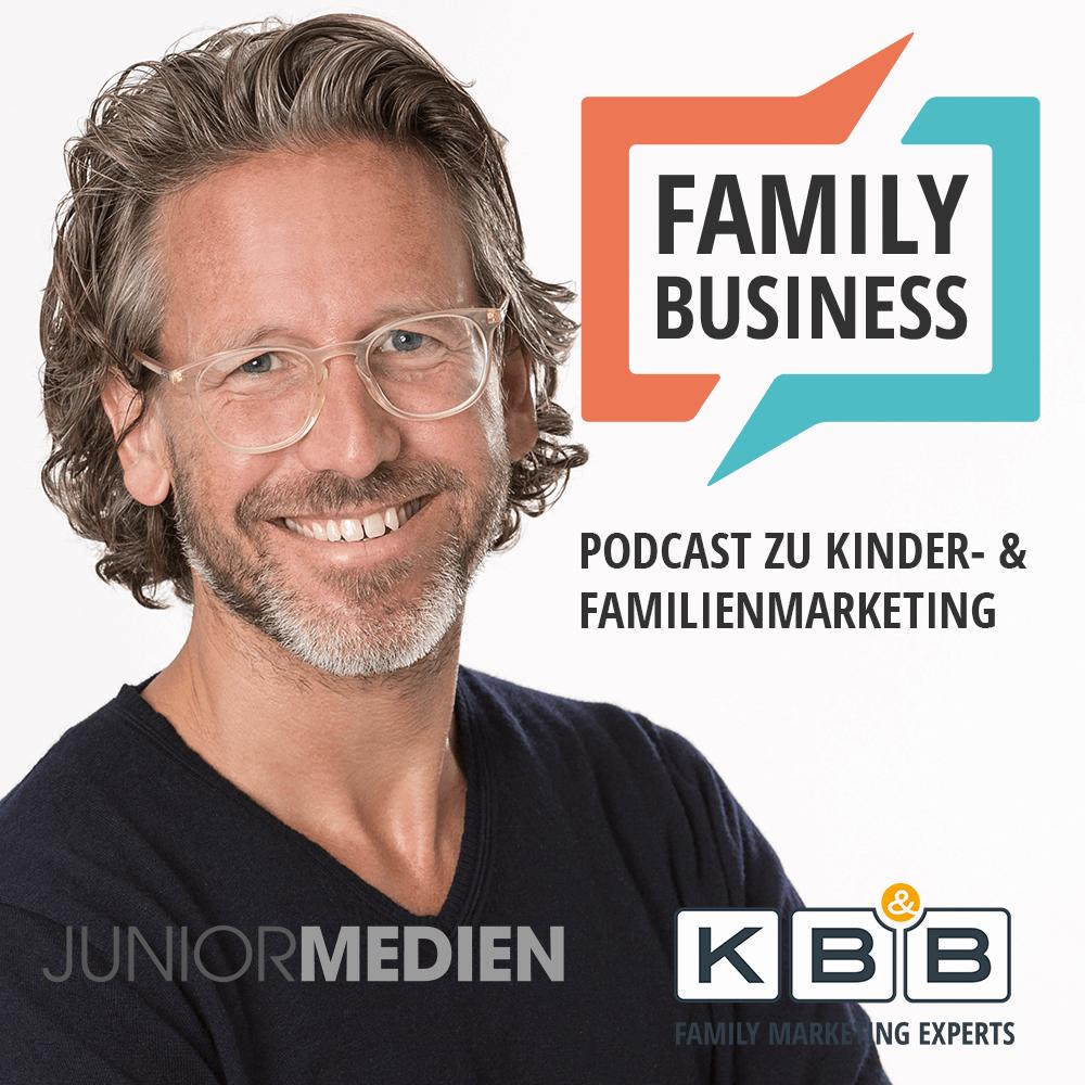 Jan Wickmann auf dem Cover von Family Business