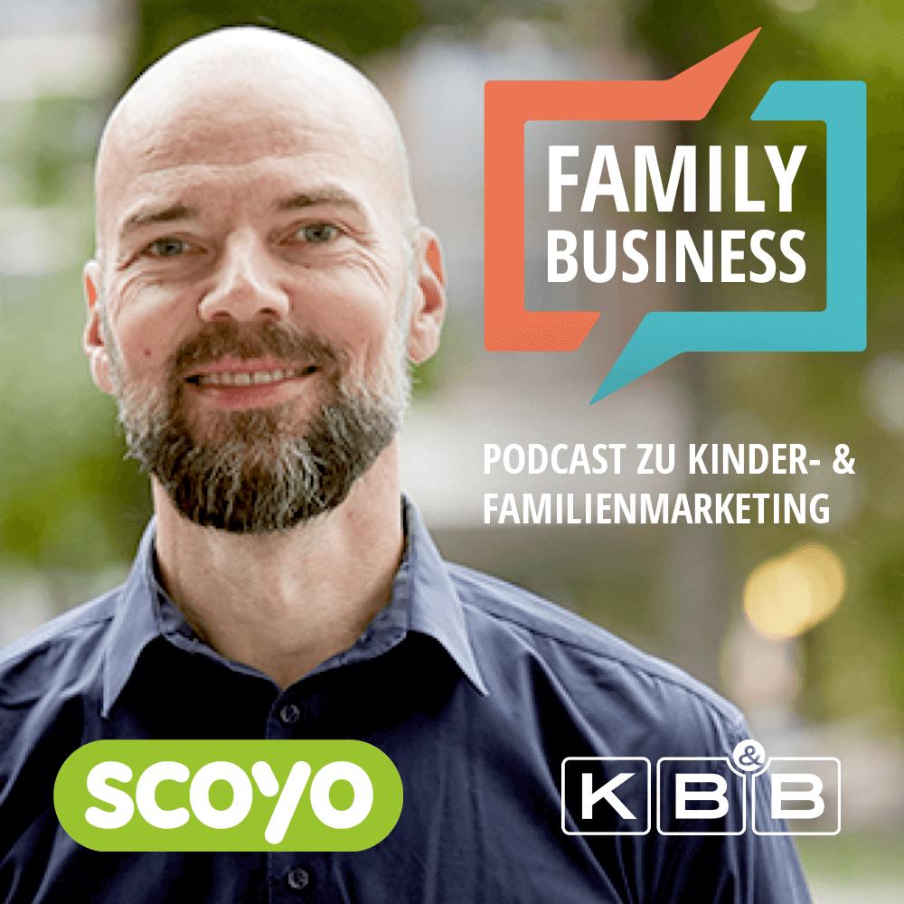 Daniel Bialecki auf dem Cover von Family Business