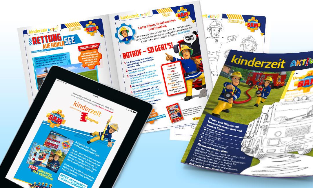 Ansichten der Kinderzeit - Newsletter und Kinderzeit aktiv