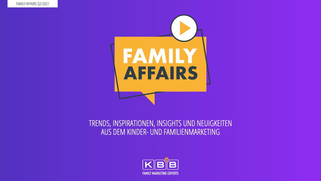 Webinar FAMILY AFFAIRS Q2 / 2021