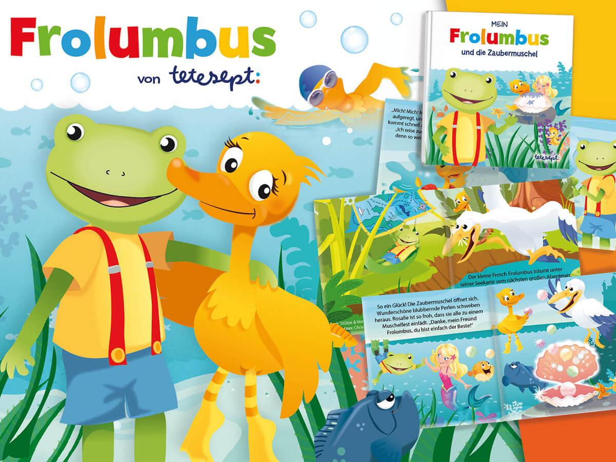 Das Minibuch - Mein Frolumbus und die Zaubermuschel