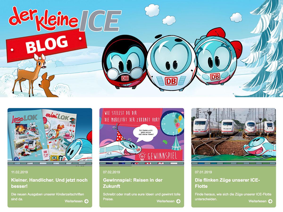 Der kleine ICE Blog und Website