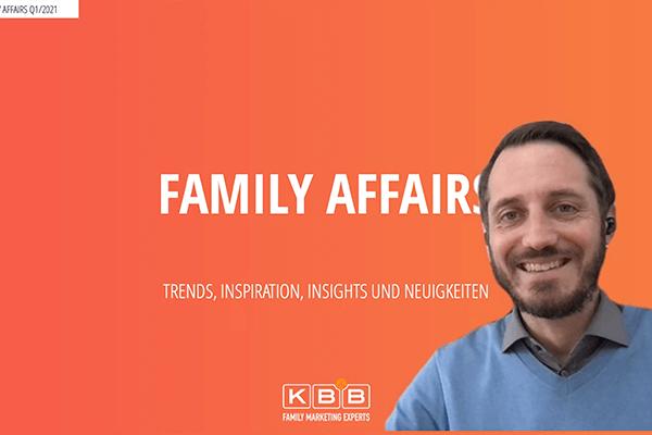 FAMILY AFFAIRS - kostenloses Webinar