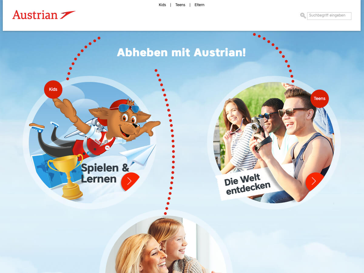 Austrian hebt ab