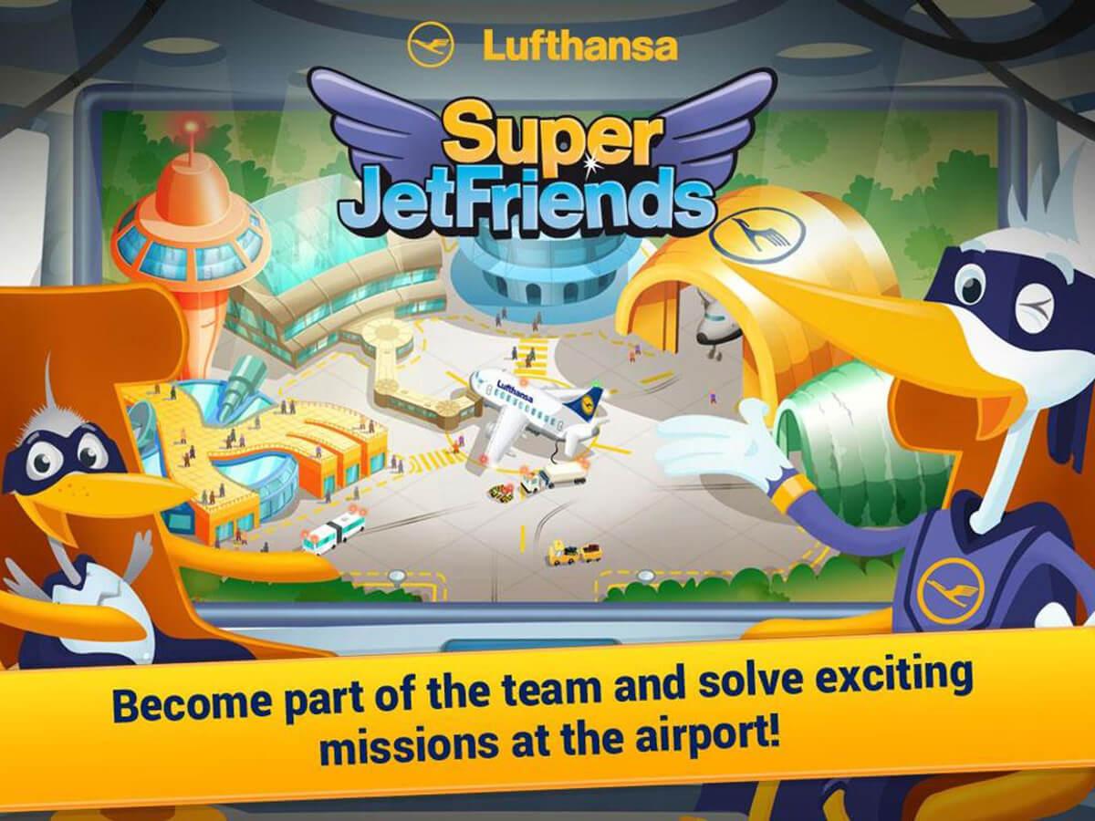 Die App für die Super JetFriends