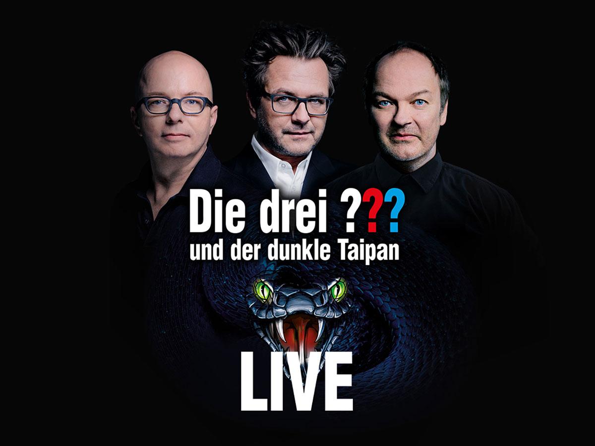 DIE DREI ??? - Keyvisual Live-Tour 2019