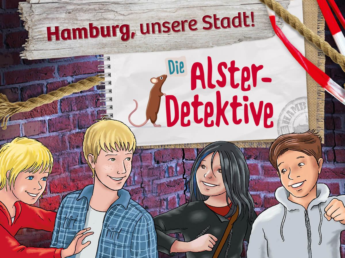Die Alster-Detektive - Hamburg, unsere Stadt