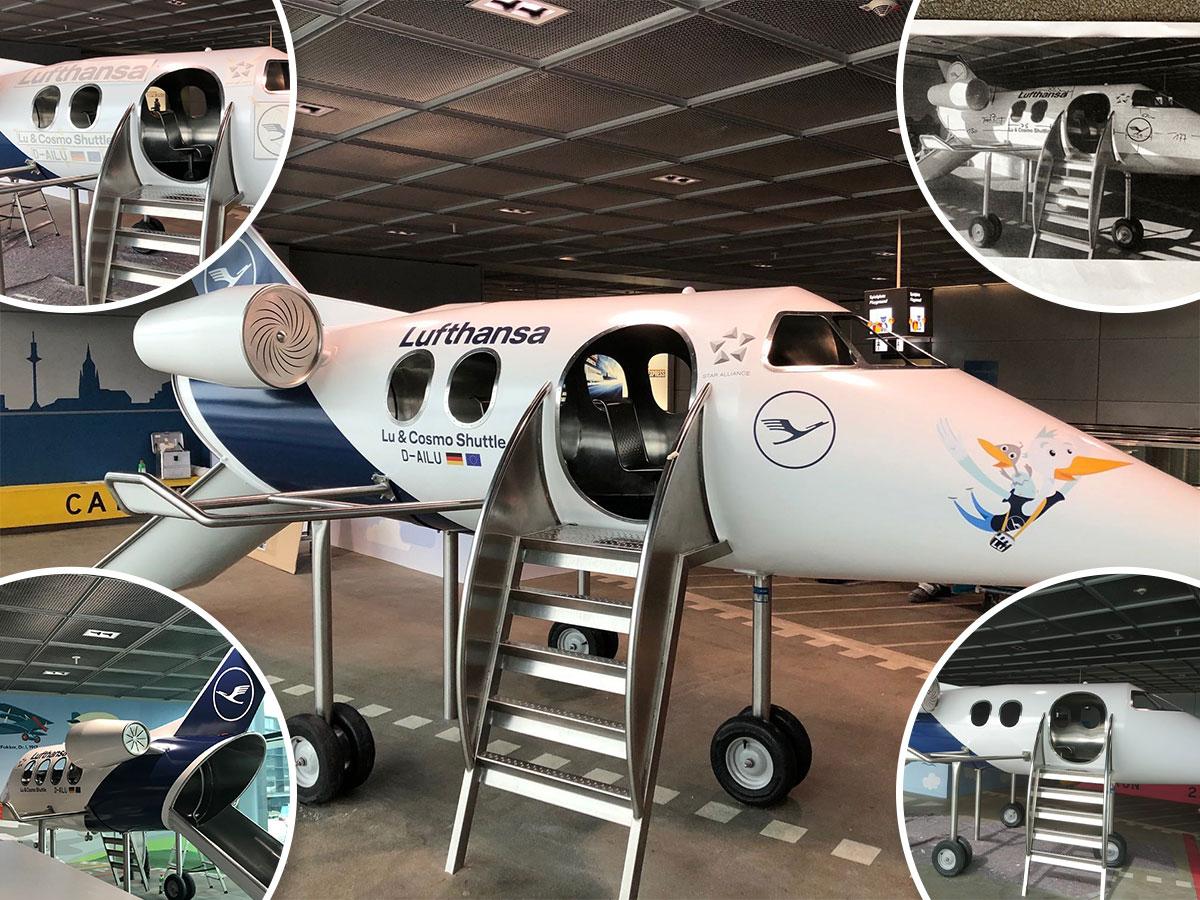 Lufthansa Spielflächen am Flughafen FRA und MUC