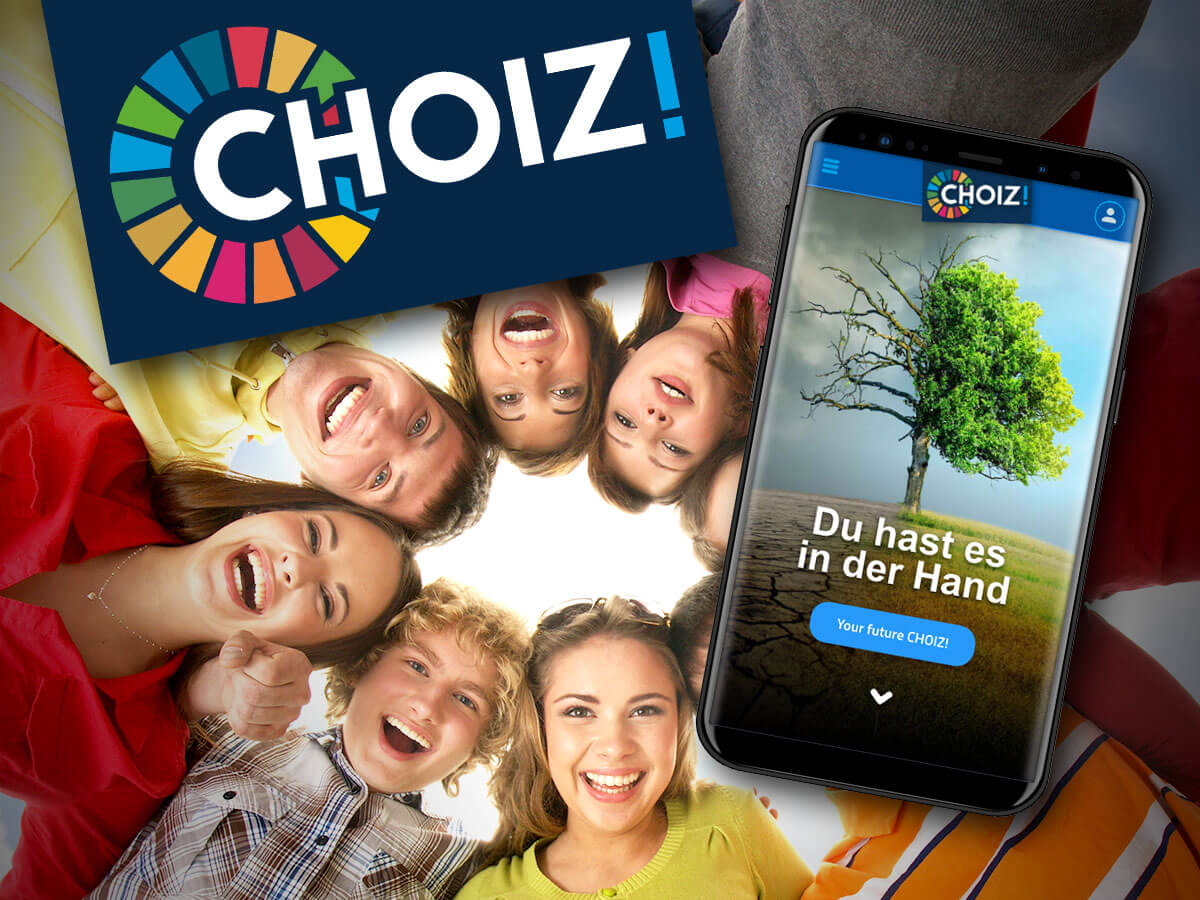 CHOIZ! App für Bildungskommunikation mit Kindern