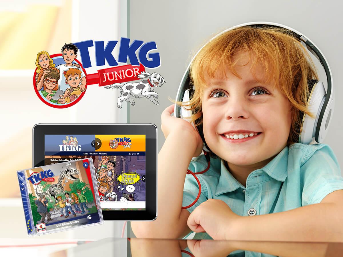 TKKG Junior - Visualisierung und Markteinführung der neuen Serie