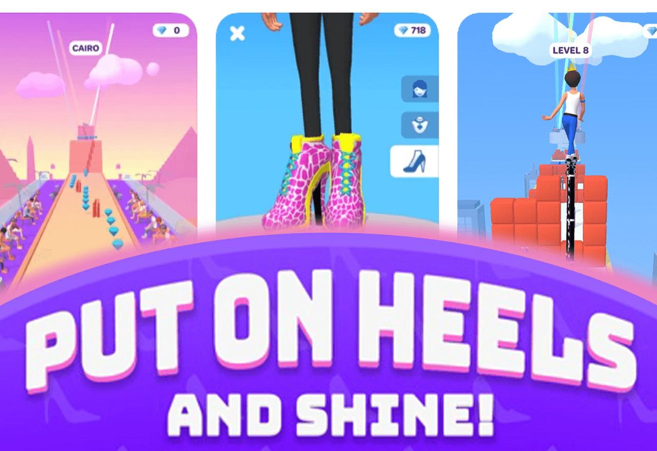High Heels! Ist meist geladenes iOS Mobile Game im Februar
