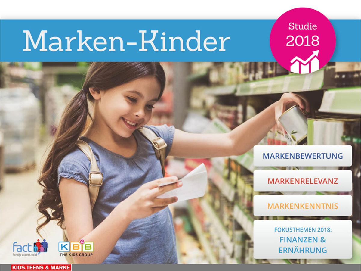 Studie: Marken-Kinder 2018