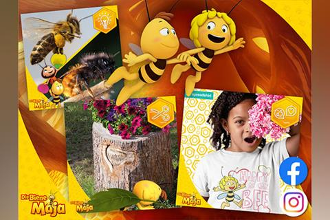 Social Media: Die Biene Maja ist auch der Überflieger bei Instagram & Co.