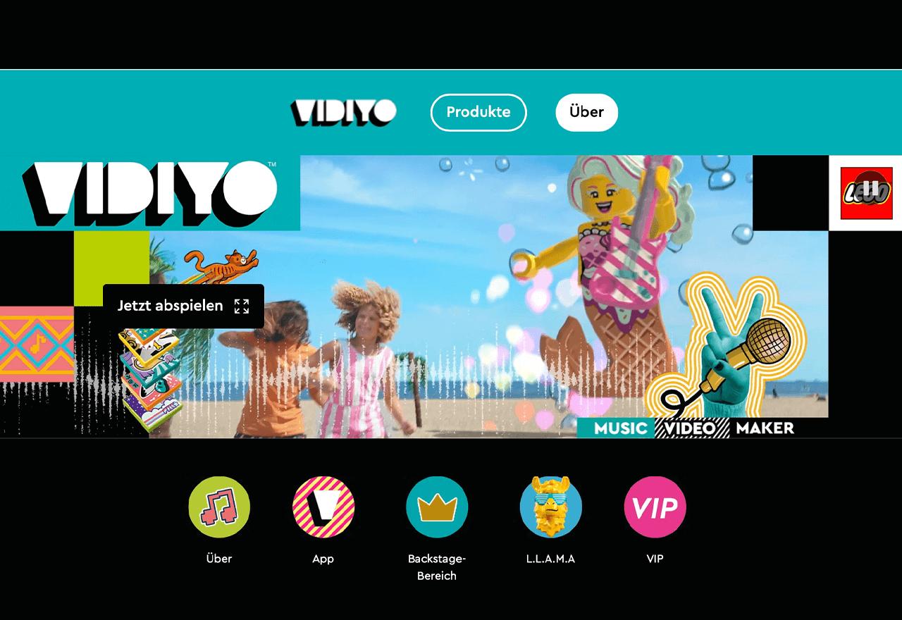 Lego startet Musikvideo-App für Kinder