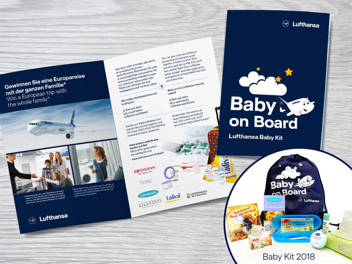 Lufthansa Baby Kit