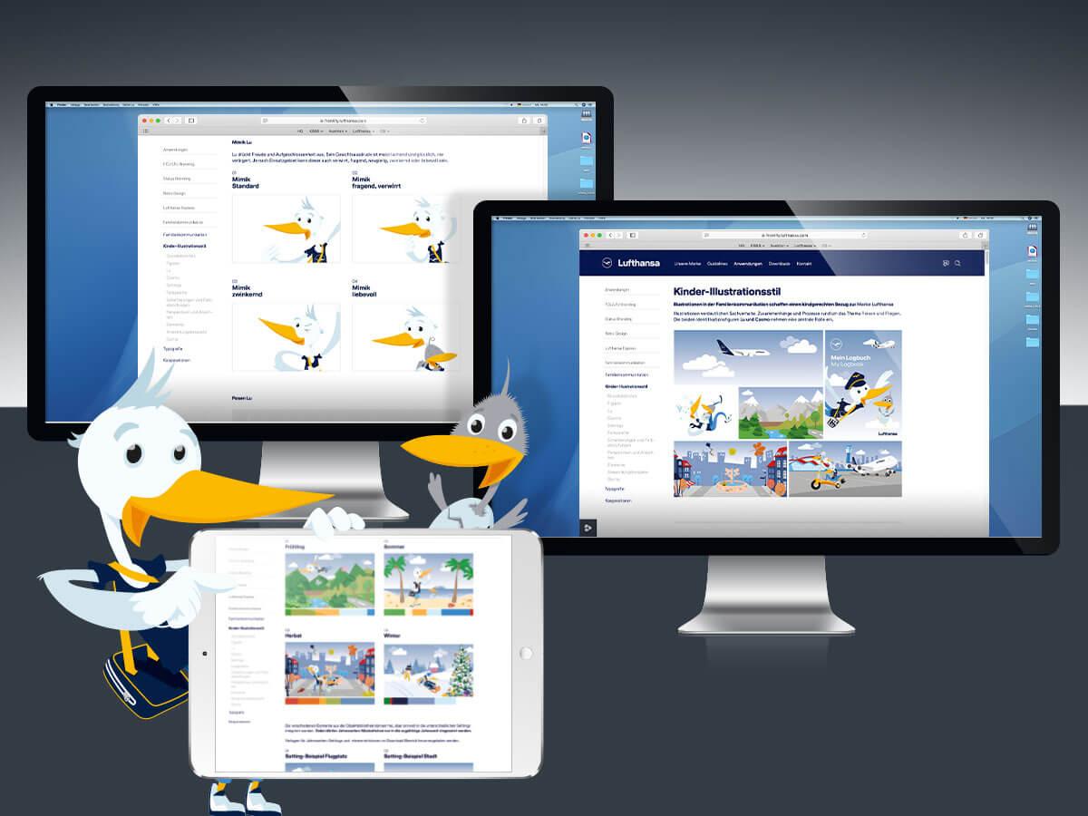Lufthansa-Guidelines für Familien-Kommunikation