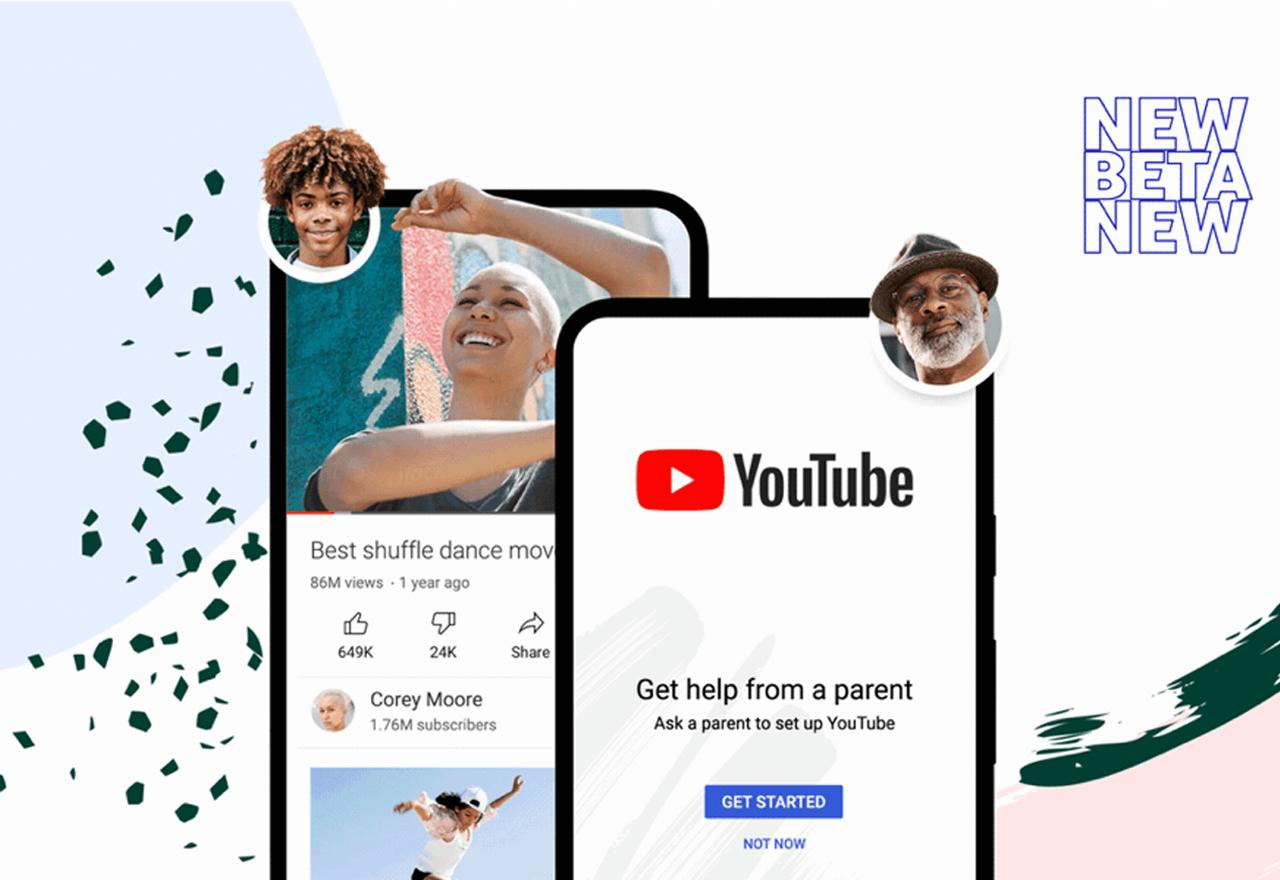 "YouTube ""supervised experiences"" für Tweens & Teens"