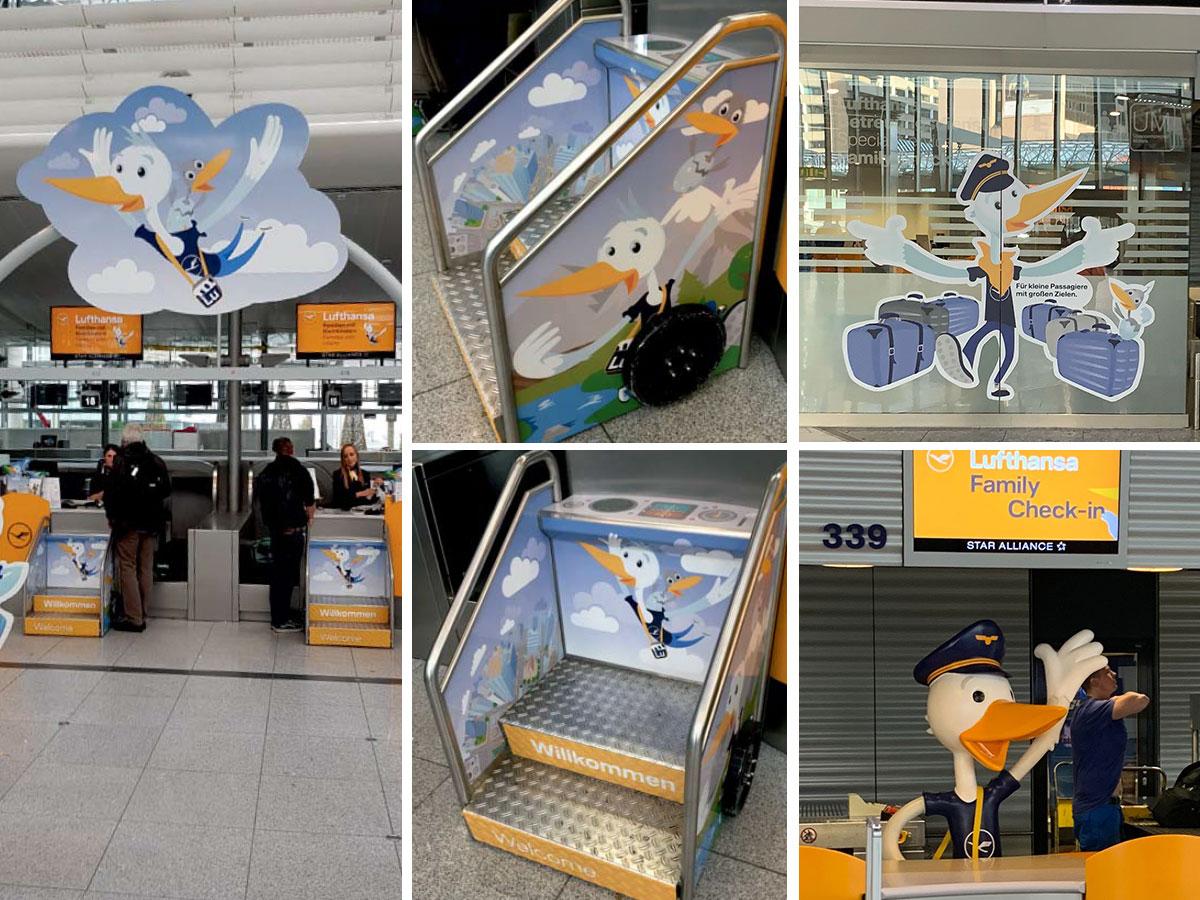 Lufthansa Familien Check-in - Erweiterung und Überarbeitung