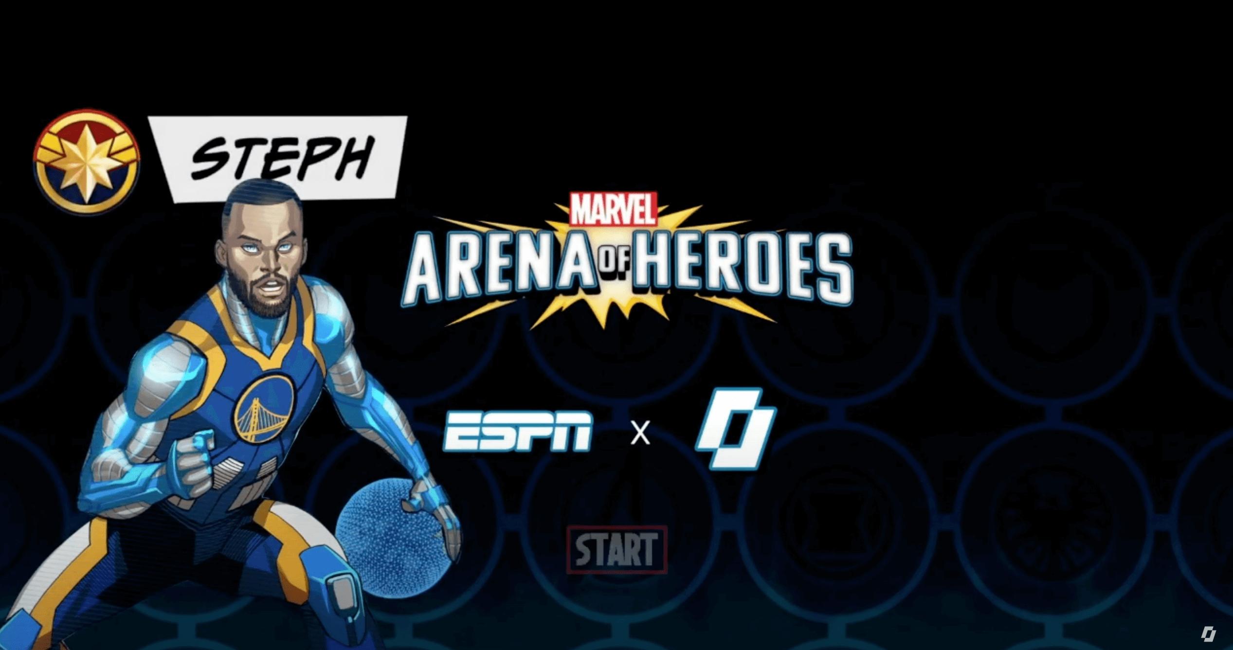 Im Rahmen einer Kooperation zwischen Marvel und ESPN wurde beim Spiel zwischen den Golden State Warriors und den New Orleans Pelicans ein weiterer Wettbewerb virtuell ausgetragen. Sechs Spieler wurden zu Kandidaten für die Aufnahme in die Avengers stilisiert und die TV-Übertragung mit entsprechenden Animationen und passender Berichterstattung angereichert.