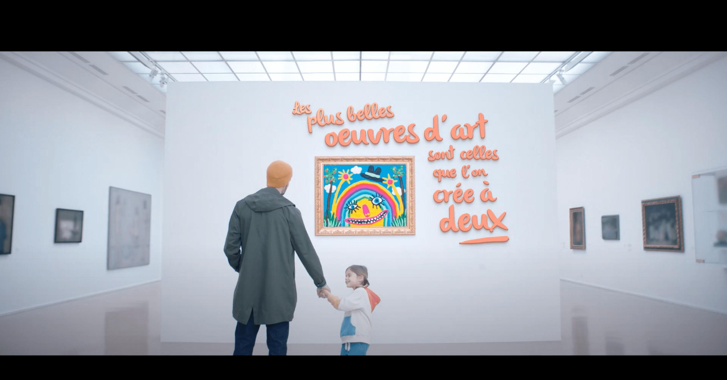 Um seinen 65. Geburtstag zu feiern, hat sich Play-Doh mit dem Pariser Musée d'Art Moderne zusammengetan. Neben dem digitalen Film wird es auch tatsächlich Werke aus Knete, die von Familien gemeinsam geschaffen wurden, im Museum zu sehen geben.