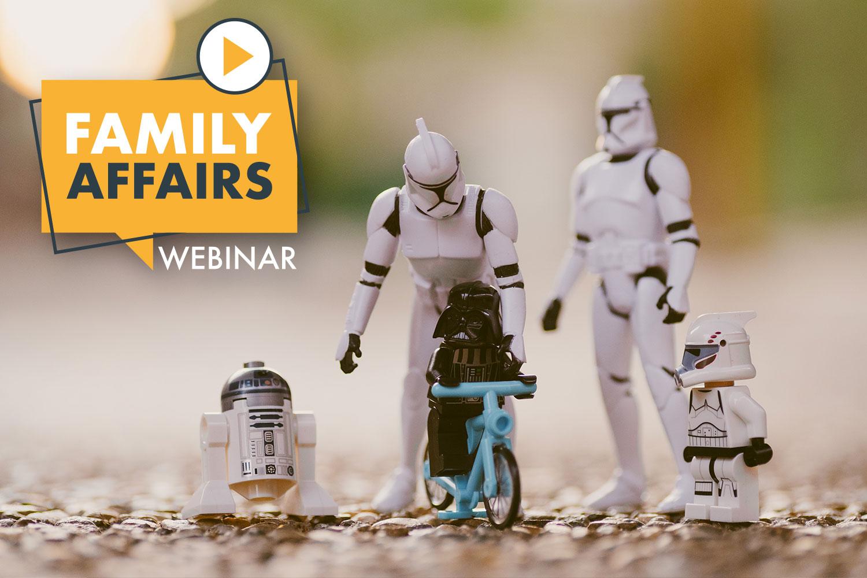 Mit Family Affairs bleiben Sie auf dem Laufenden, um bei Familien und Kindern relevant zu bleiben