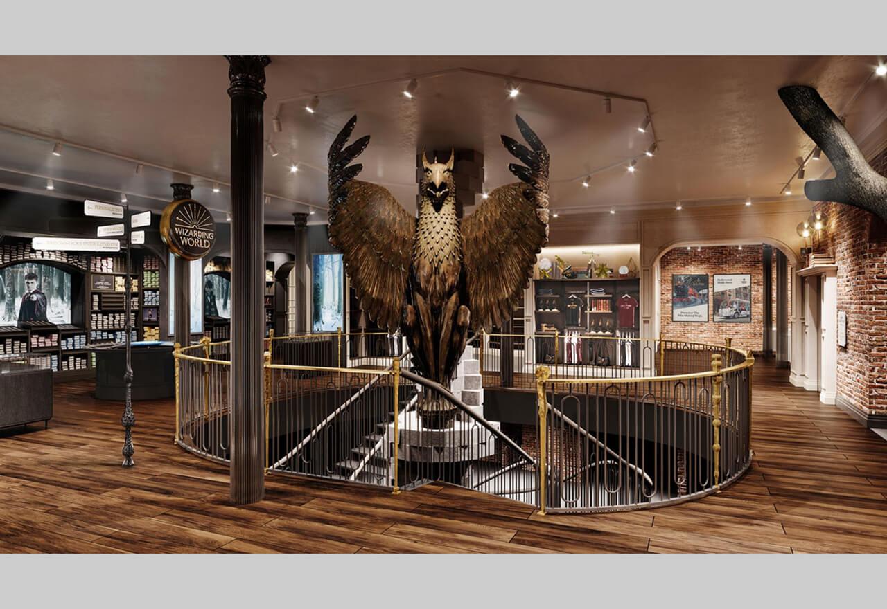 In New York hat der erste Harry Potter Flagship Store eröffnet. Neben viel Merchandise gibt es auf 21.000 Quadratmetern VR Experiences, hochgradig Instagram-taugliche Foto-Hintergründe und eine strikt thematische Bar aus der Wizarding World.