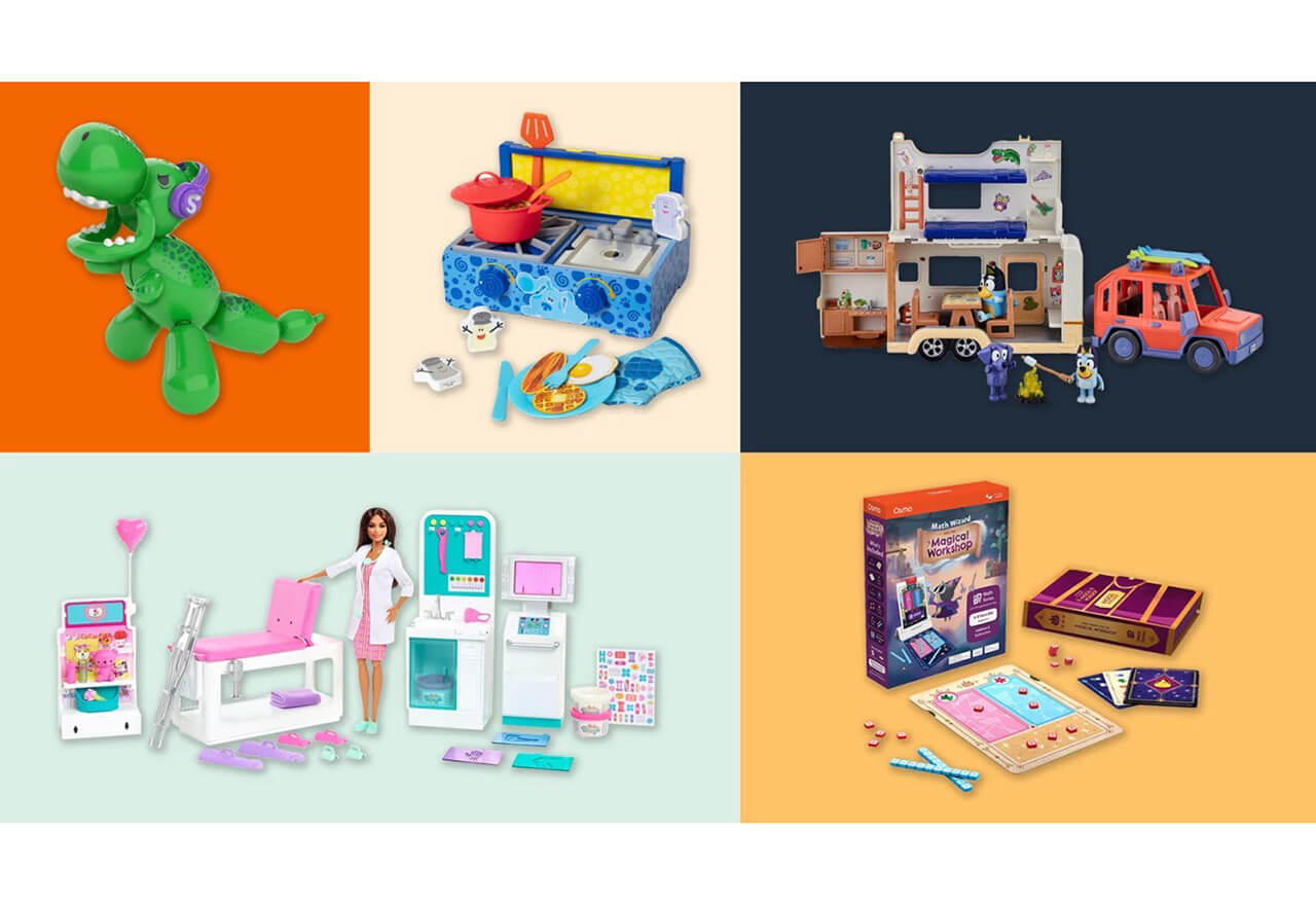 Amazon hat seine jährliche Liste mit Geschenktipps veröffentlicht. Die Liste umfasst mehr als 150 Spielwaren, die nach Alter und anderen Kategorien gefiltert werden können.