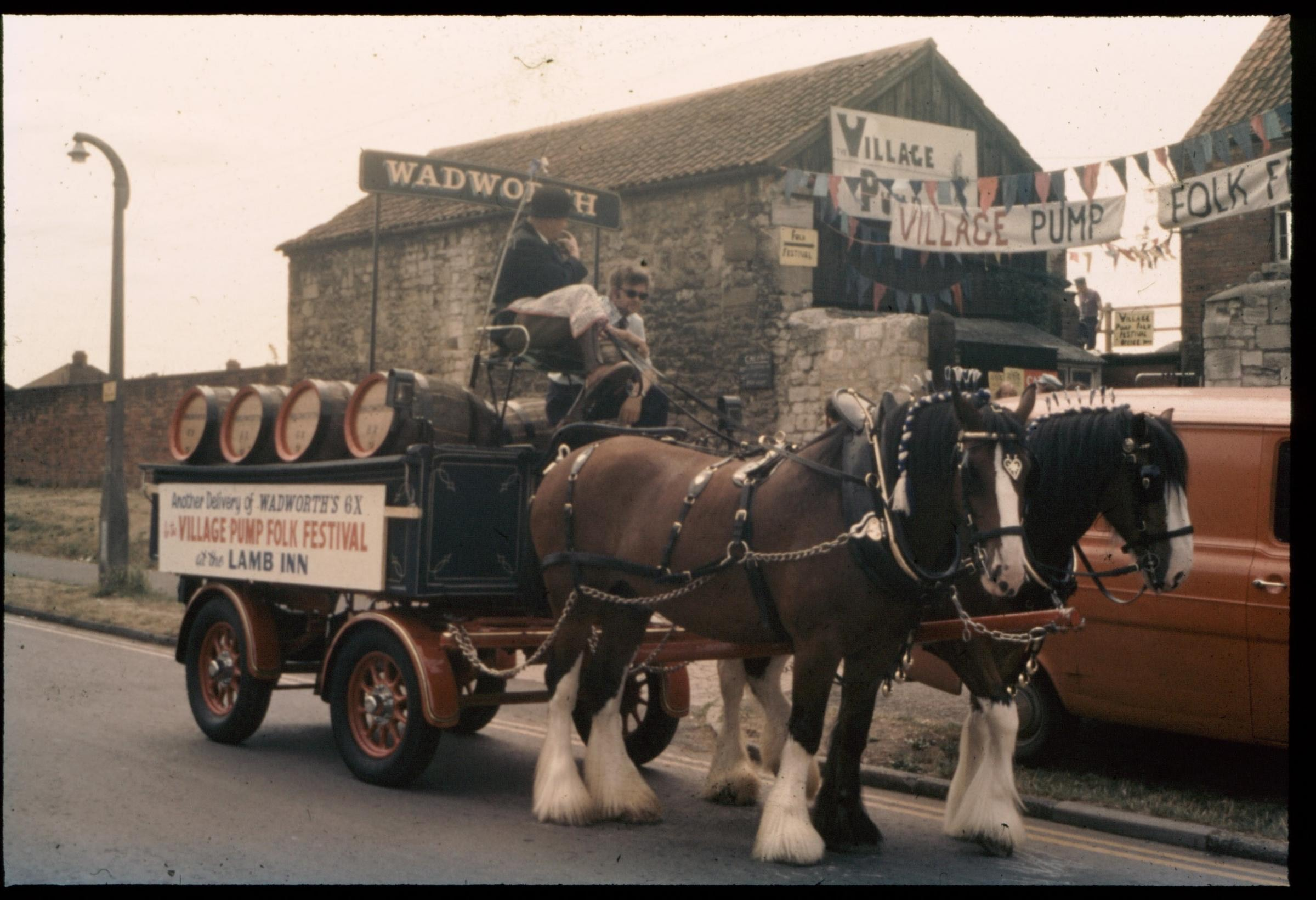 Drayman And Their Horses