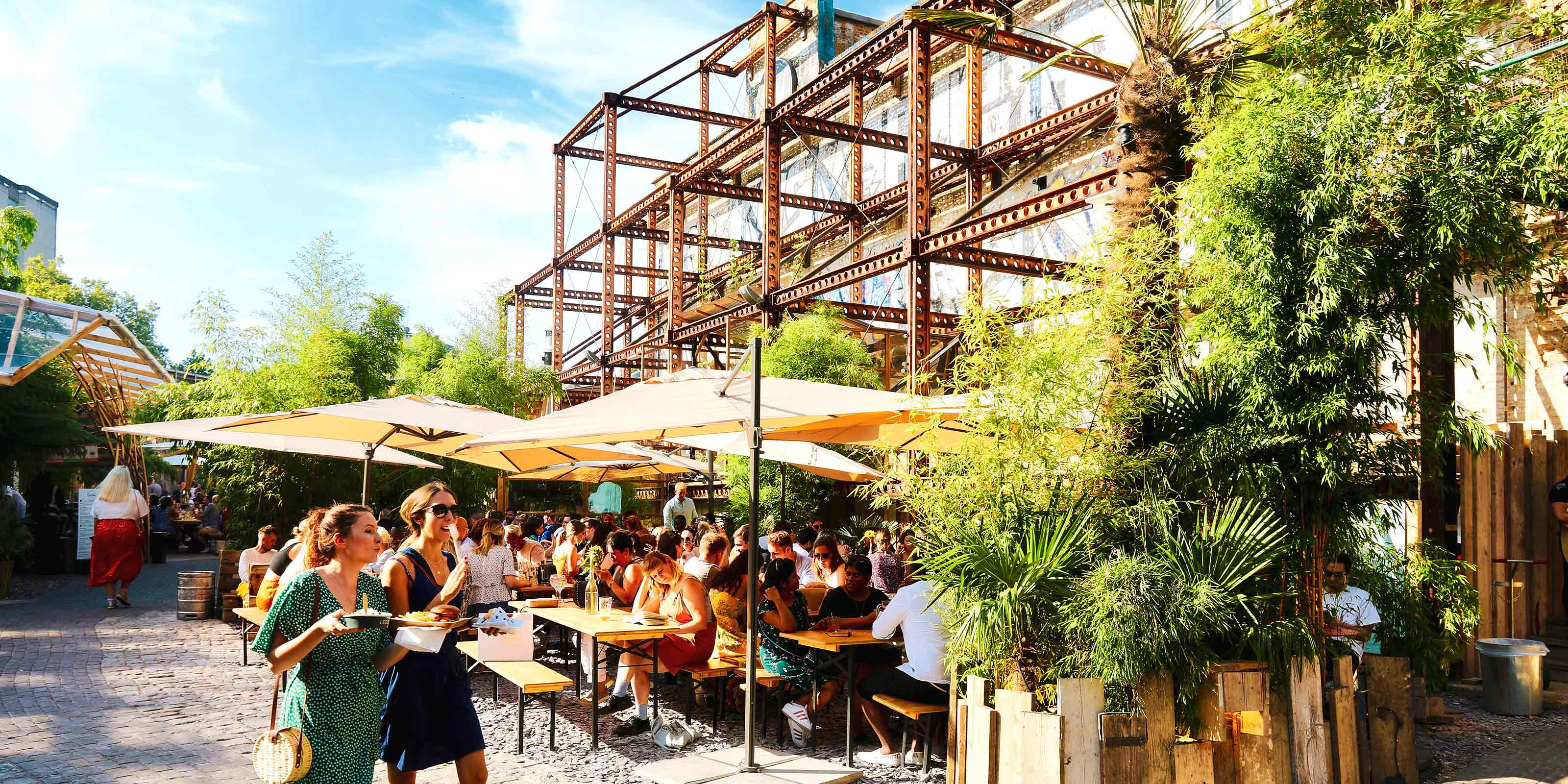 Mercato Elephant & Castle beer garden