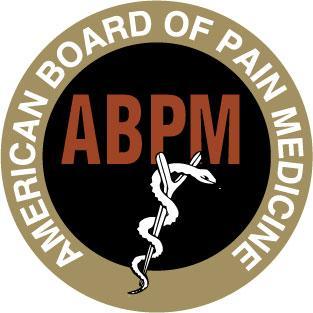 American Board of Pain Medicine logo