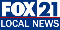 Fox 21 Local News logo.