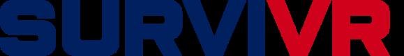 SurviVR first responder and police training simulator logo.
