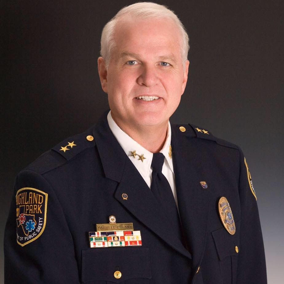 A headshot of Chief Darrell Fant, advisor at SURVIVR.