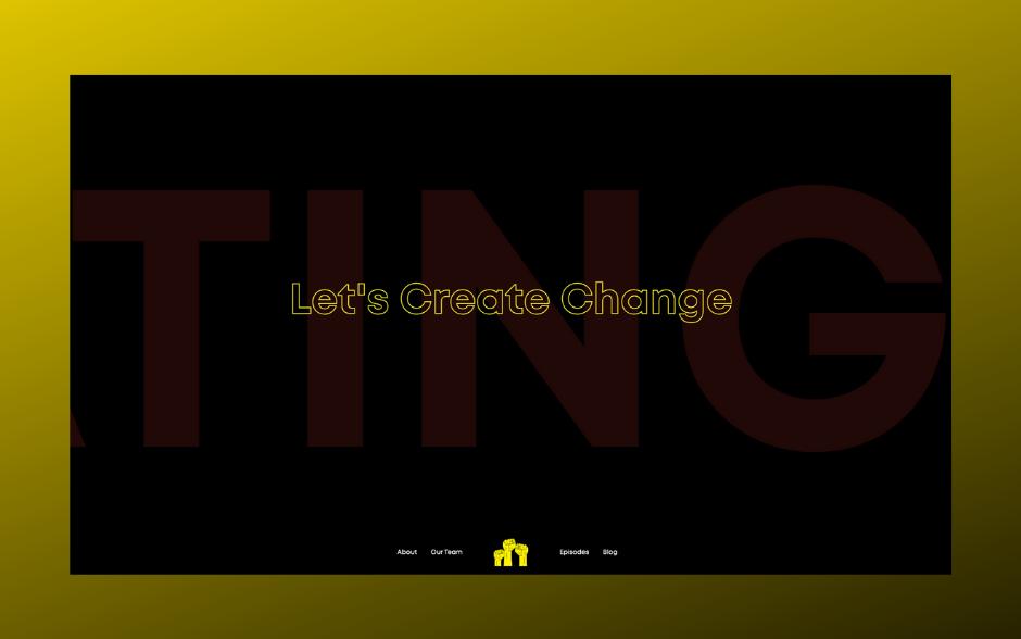 Creating Change Podcast