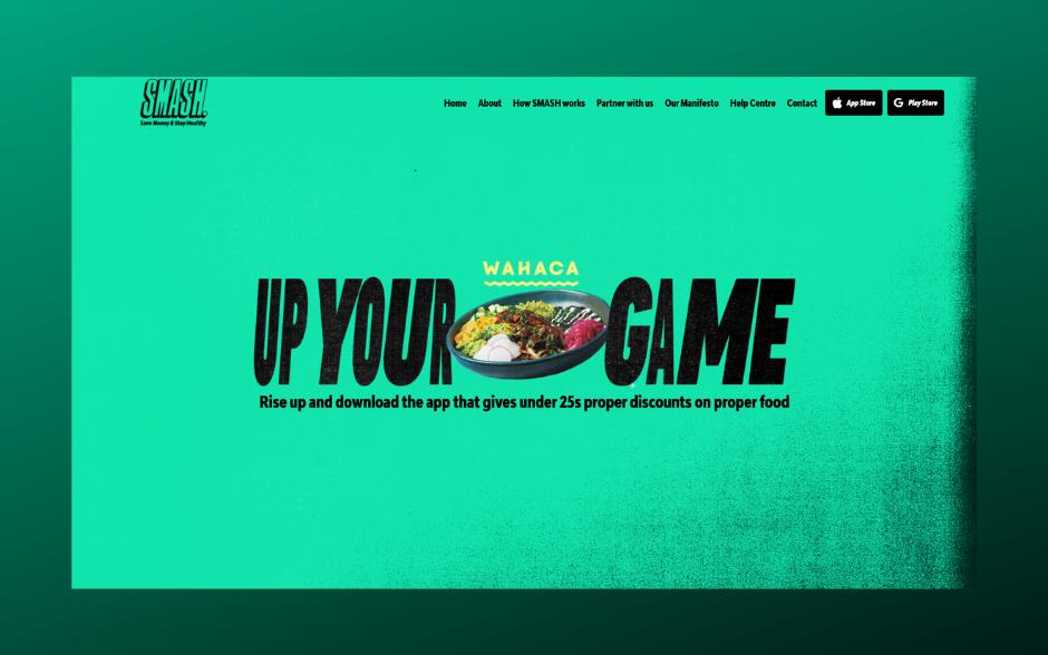 SMASH App Marketing Website